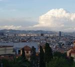 Montjuic in Barcelona, Spain