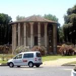 Piazza della Bocca della Verita in Rome
