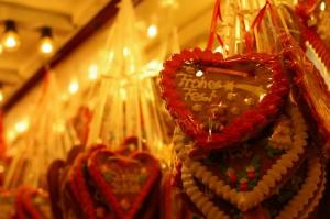 Gingerbread cookies at the Kaiser Wilhelm Memorial Church Christmas Market