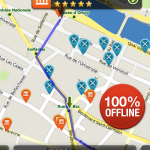 Offline maps and directions