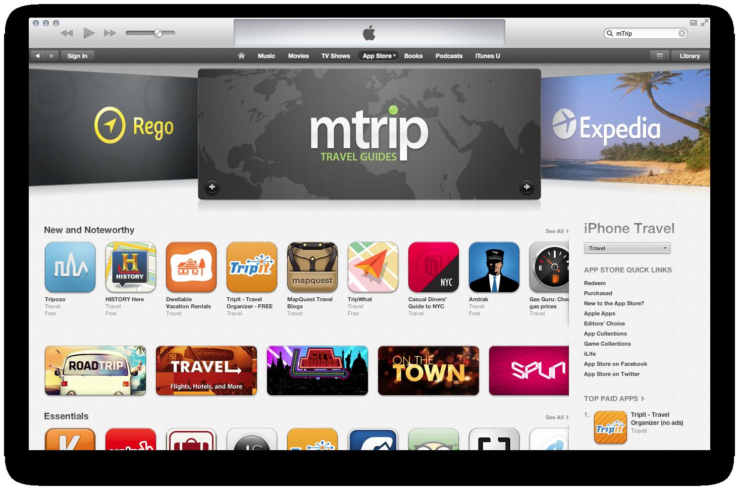 mtrip-appstore
