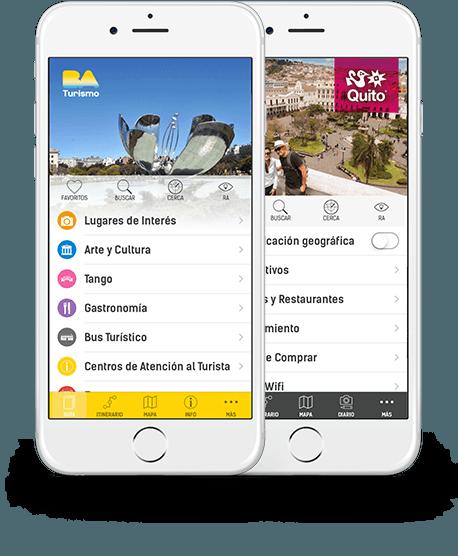 Aplicaciones móviles para Oficinas de Turismo