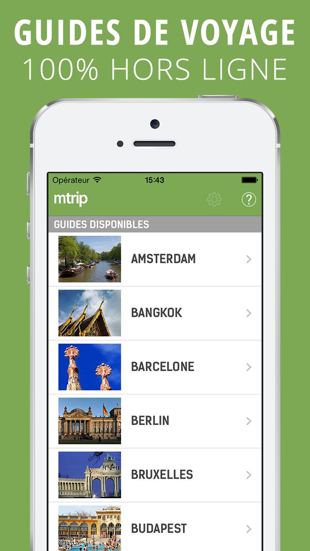 Toutes vos destinations dans une seule app