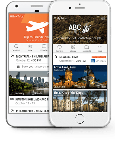 iOS & Android Travel Apps