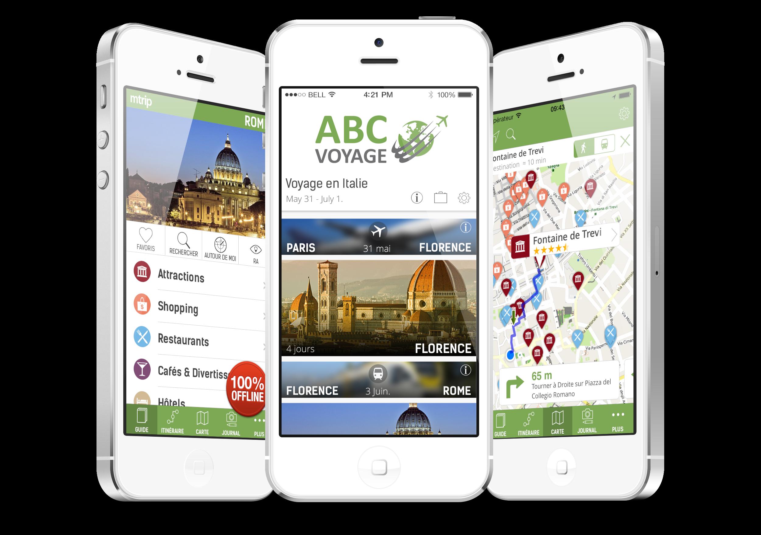 Solutions Mobiles pour Voyagistes et Agences de Voyage - mTrip
