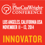 Sélectionné comme Innovator à la conférence PhoCusWright 2014
