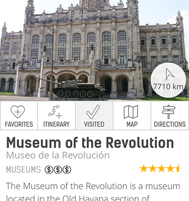 Cuba Travel Services mobile app