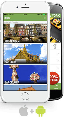 Travel guides for iPhone and Android
