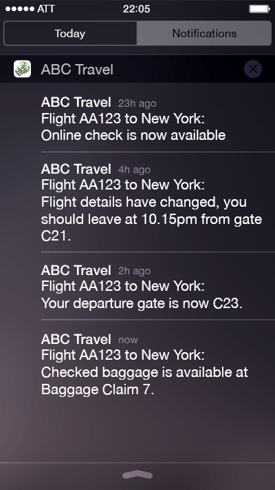 Flight Alerts