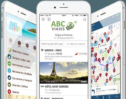 Aplicaciones móviles para la industria de viajes