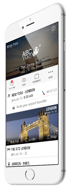 Personalized mobile apps for business travelers