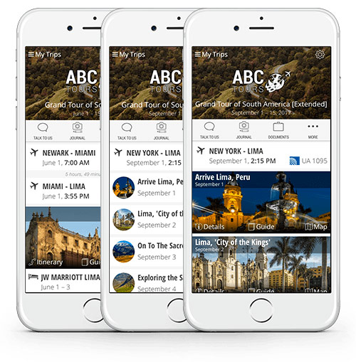 Tours & MICE Apps