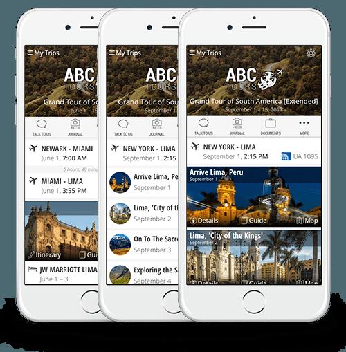Tours & MICE app