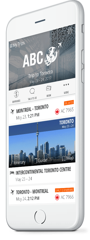 Business Travel App