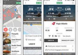 Flight & Airport Screen
