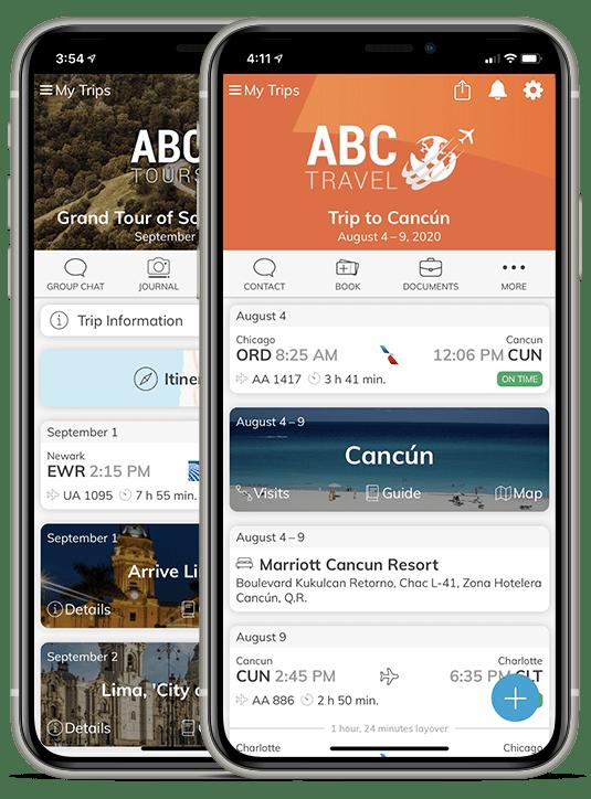 White-label travel apps